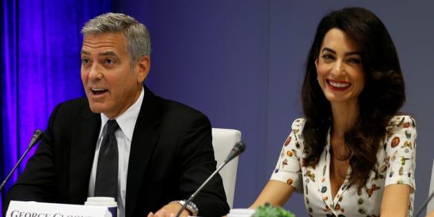 George et Amal Clooney vont financer l'éducation de 3000 enfants syriens au Liban