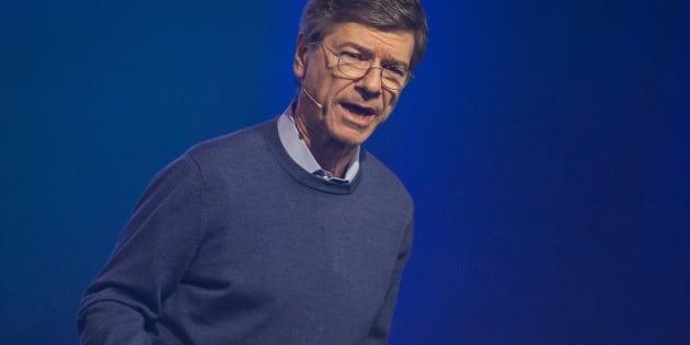 Jeffrey Sachs, durante su intervención en el Starmus Festival de Trondheim (Noruega).