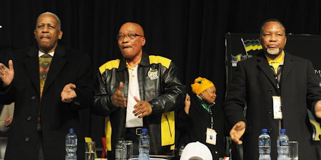 Mathews Phosa, Jacob Zuma and Kgalema Motlanthe.