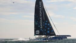 Armel Le Cléac'h a chaviré au large des Açores pendant la Route du Rhum, le skipper est
