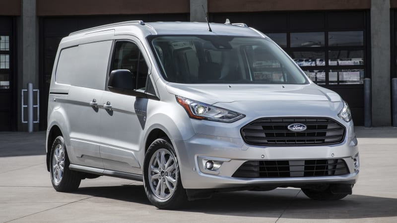 Ford Has Updated Its Compact Transit Connect Cargo Van With Two New Engines The Standard Gasoline Engine Is A Direct Injection Unit And It Comes With An
