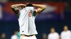 España cae 3-2 ante Croacia y depende de que esa selección empate con