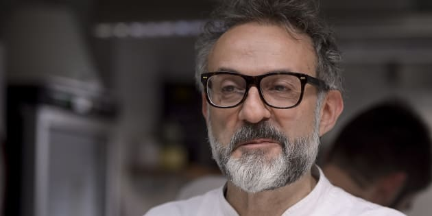 L'italien triplement étoilé Massimo Bottura a concocté un menu alliant spécialités italiennes et plats exotiques revisités.