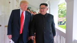 Trump a montré une vidéo à Kim... et c'est