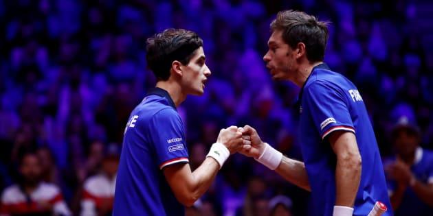 Coupe Davis: Nicolas Mahut et Pierre-Hugues Herbert s'imposent en double