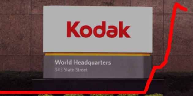 "Kodak explose en bourse en annonçant ""Kodakcoin"", sa cryptomonnaie"