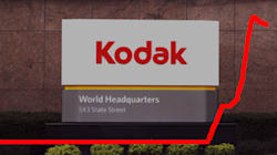 Kodak explose en bourse en annonçant