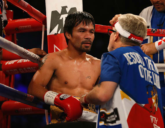 Pacquiao fired his boxing coach via press release