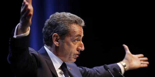Nicolas Sarkozy à Toulon le 21 octobre 2016.