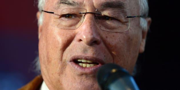 Clément Chartier, président du Ralliement national des Métis