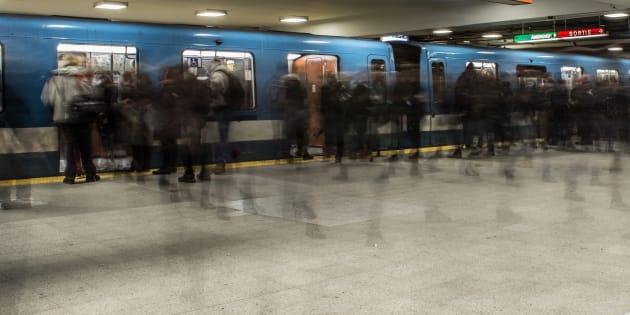 Service de métro interrompu sur la ligne verte