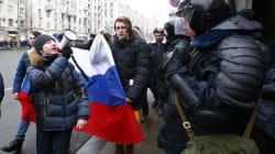 La policía rusa detiene al líder opositor Navalny en una manifestación en