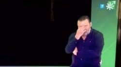 Momento cómico en Canal Sur: dejan al traductor de signos tras irse a negro por el
