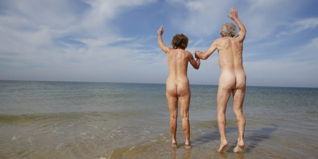Bloody nudists.