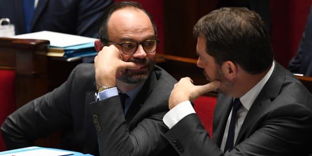 Le premier ministre Édouard Philippe et le délégué général de LREM Christophe Castaner ont ardemment défendu la députée sortante du Val-d'Oise Isabelle Muller-Quoy.