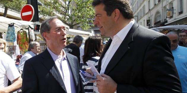 Non, Thierry Solère - ici en juin 2012 - n'a pas été espionné par les services secrets quand il était le rival de Claude Guéant