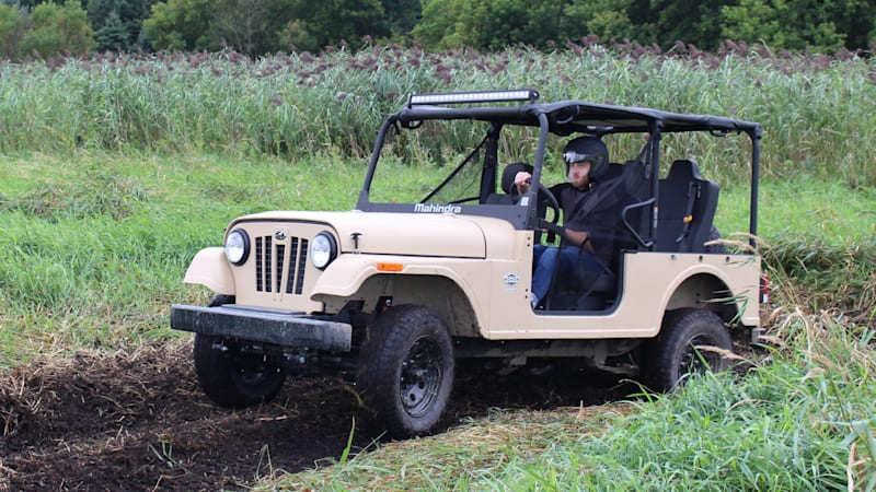 Mahindra Roxor Second Drive | Aiming for the mud