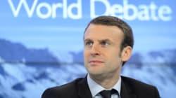 De Versailles à Davos, Macron assume le rôle de porte-voix d'une mondialisation