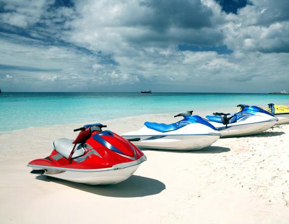 Americans missing in Barbados after renting jet ski