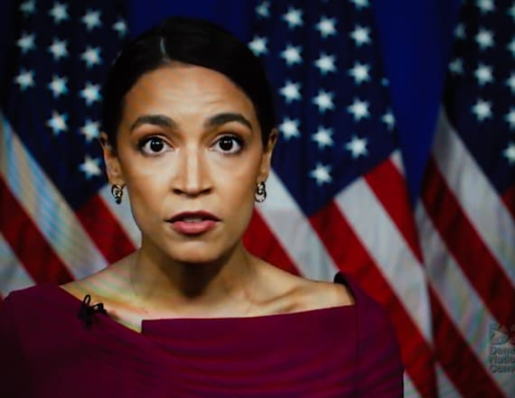AOC responds to Trump's latest rally insult