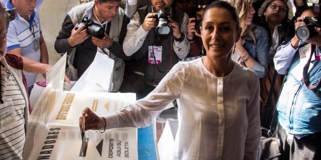 La izquierdista Claudia Sheinbaum se declara ganadora en Ciudad de México