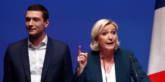 """Le Rassemblement national assume ses contre-vérités sur le traité d'Aix-la-Chapelle: """"On a le droit d'avoir un avis qui diverge des journalistes""""."""