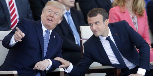 Macron expresa su apoyo al acuerdo nuclear en AGNU