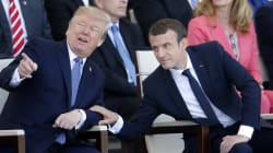 Trump le dice a Macron que quiere un desfile del 4 de julio como el del Día de la
