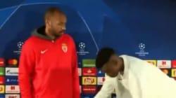 Thierry Henry ne rigole pas avec les bonnes