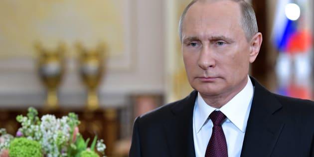 Le président de la Russie, Vlamidir Poutine.