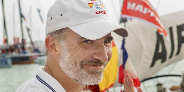El rey Felipe en Palma de Mallorca.
