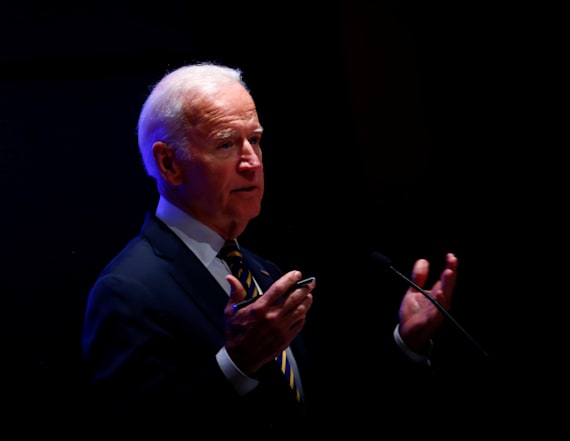 Biden walks back belligerent comments about Trump