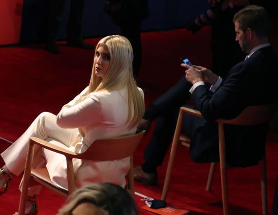 Trump's family didn't wear masks during debate