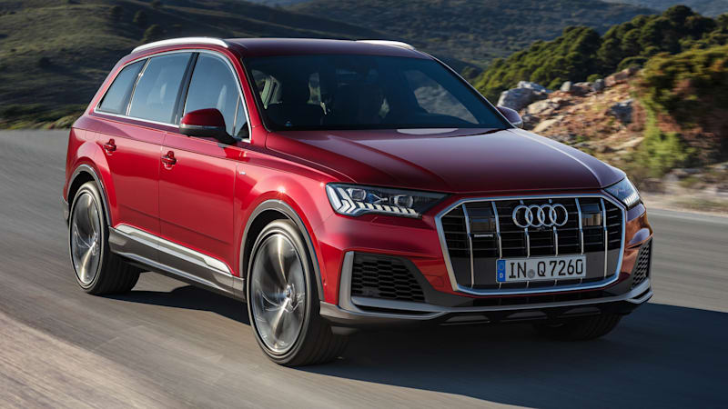 2020 Audi Q7 revealed with new styling and Audi's newest