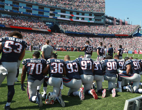 NFL won't enforce new anthem policy as league
