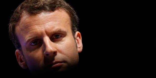Emmanuel Macron au 71ème congrès de la FNSEA à Brest le 30 mars 2017.