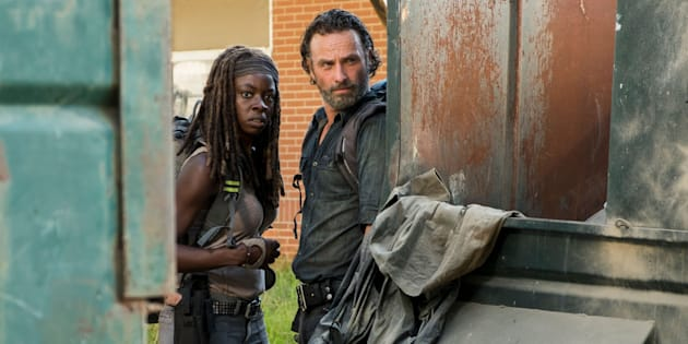 Richonne didn't see this coming.