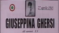 Una targa per la 13enne violentata e uccisa dai partigiani. L'Anpi protesta: