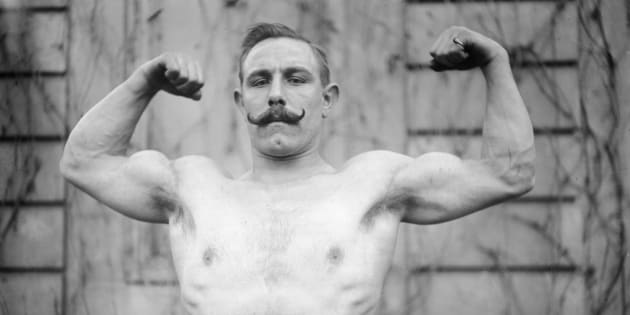 Vasseur, body-builder, 1908.