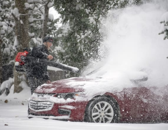 Arctic blast brings snow, ice and chilling temps