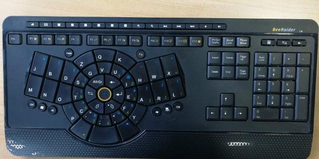 On a testé Beeraider, le clavier qui veut changer votre façon de taper.