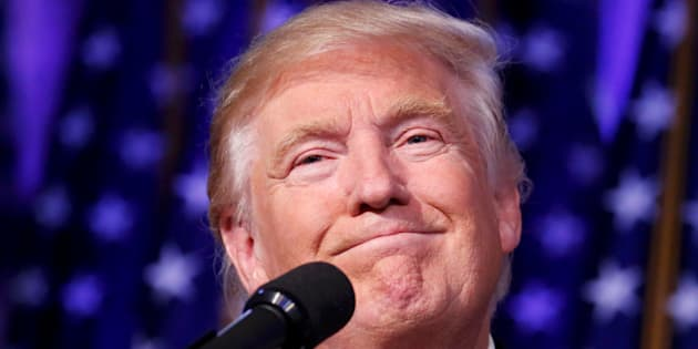 Donald Trump à New York le 9 novembre 2016.