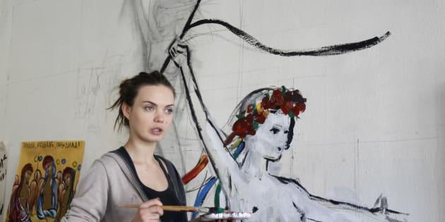 Hallan el cadáver de Oksana Shachko, feminista que fundó la organización Femen