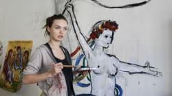 Hallan el cadáver de Oksana Shachko, feminista que fundó la organización