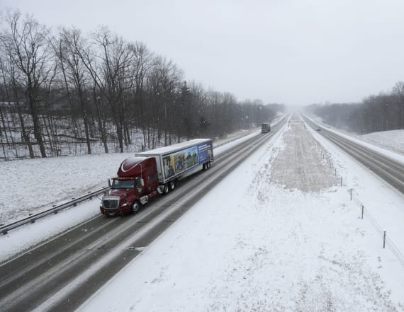 Deadly winter storm spreads snow, ice