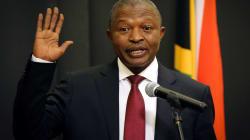 Mabuza: 'State Capture Crooks Can't Run