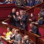 Cette réponse de Philippe a entraîné une standing ovation de Mélenchon et des