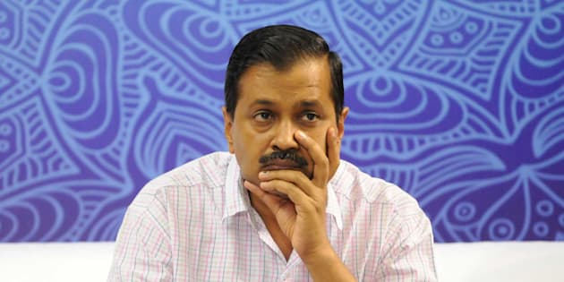 NEW DELHI, INDIA - MAY 23: Delhi Chief Minister Arvind Kejriwal.