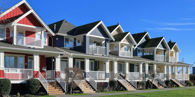 "A row of a new houses in Richmond, British Columbia. An anti-corruption watchdog group says Statistics Canada ""got it wrong"" in a release of data last month that left the impression foreign buyers aren't a major part of Canada's housing market."