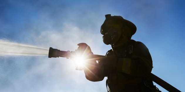 Firefighters in Thunder Bay, Ont. say that a local resident set his house on fire while trying to get rid of a wasp's nest.